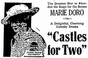 Castles for Two film starring Marie Doro