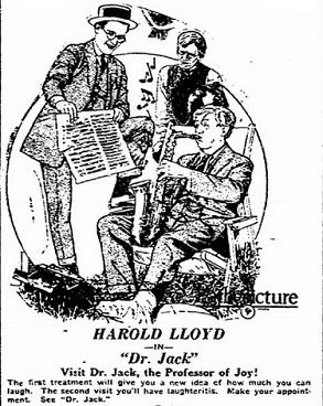 Dr. Jack film starring Harold Lloyd