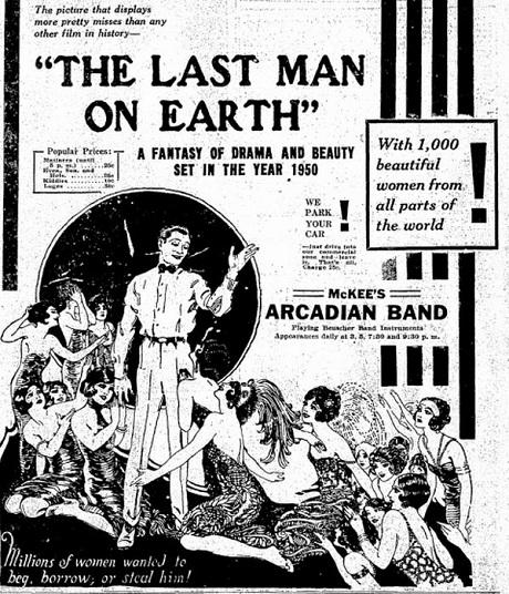 The Last Man on Earth silent sci-fi fantasy film