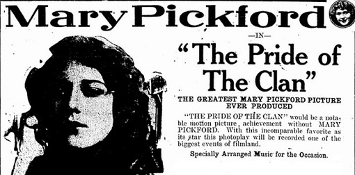 The Pride of the Clan film starring Mary Pickford