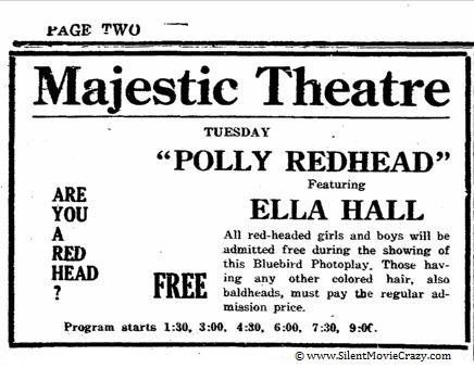 Polly Redhead starring Ella Hall