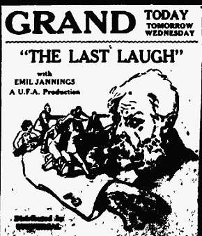 Film review The Last Laugh