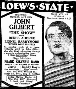 film review The Show starring John Gilbert